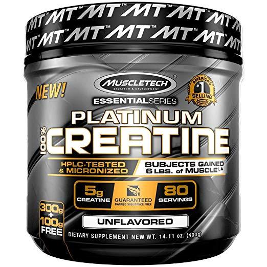 MuscleTech Platinum Creatine Monohydrate Micronized