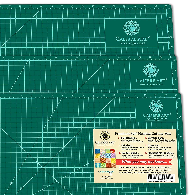 Calibre Art 24×36 Self-Healing Rotary Cutting Mat
