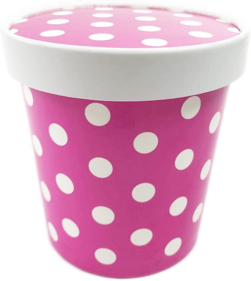 Black Cat Avenue Disposable Ice Cream Container, 15-Count