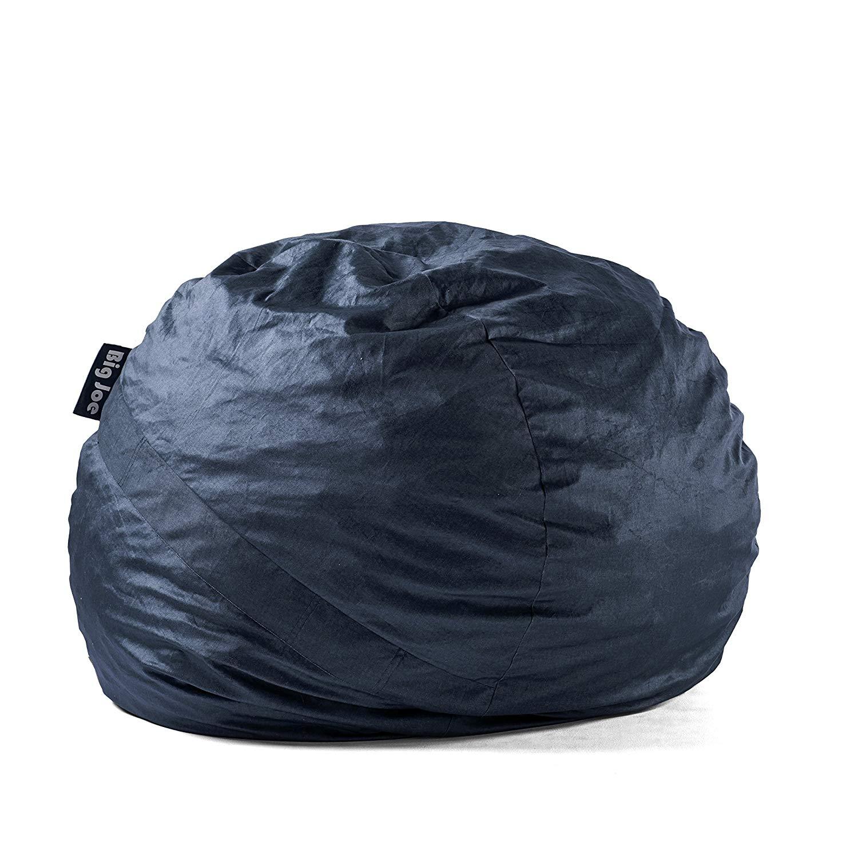 Big Joe Fuf Foam Filled Large  Bean Bag Chair, Cobalt Lenox