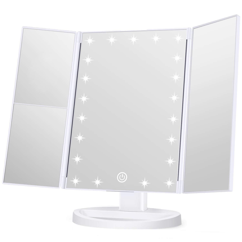 KOOLORBS Makeup LED Mirror with Lights