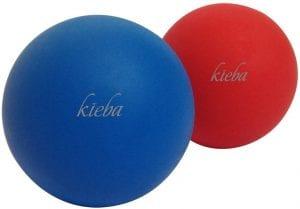 Kieba Trigger Point Therapy Massage Lacrosse Balls, 2-Pack