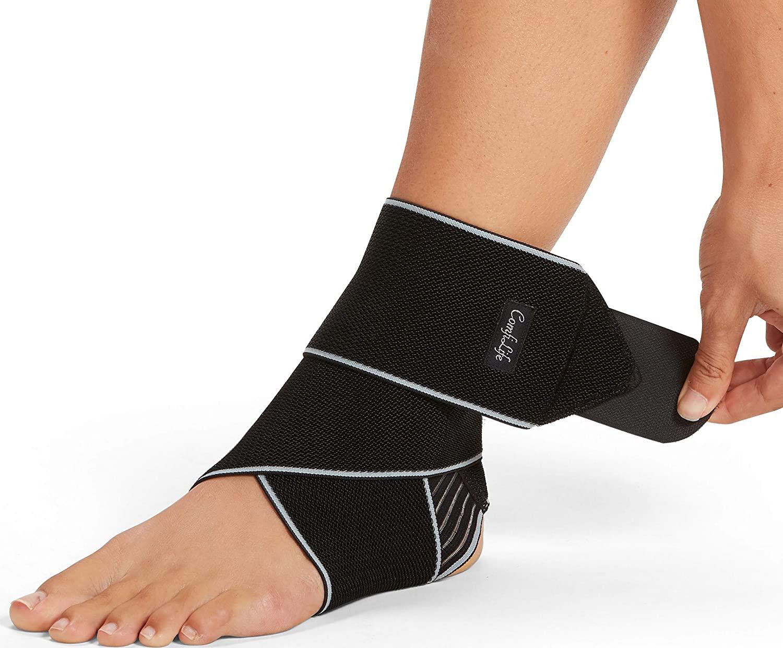 ComfiLife Adjustable Compression Ankle Brace Wrap