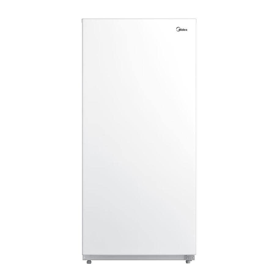 Midea MRU14F6AWW Upright Convertible Freezer, 13.8 Cubic Foot