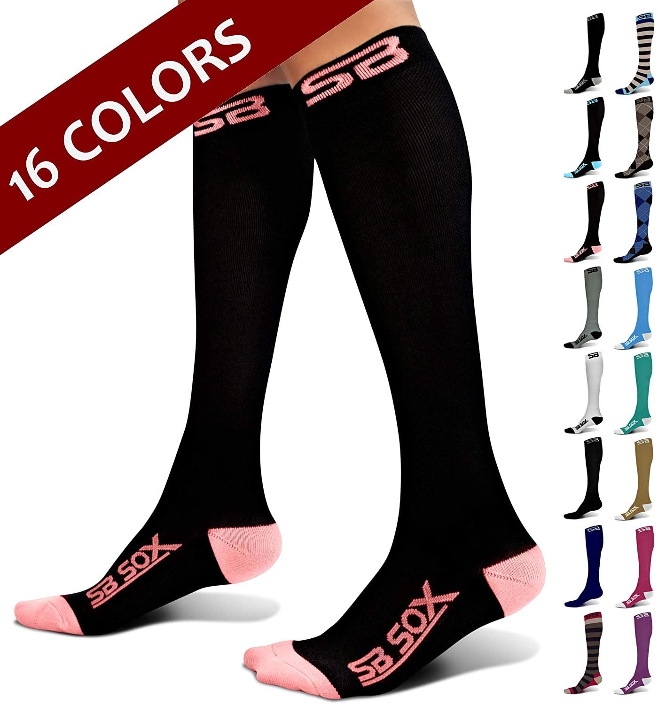 SB SOX 20-30mmHg Compression Socks For Women