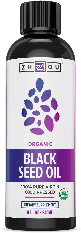 Zhou Nutrition USDA Organic Black Seed Oil