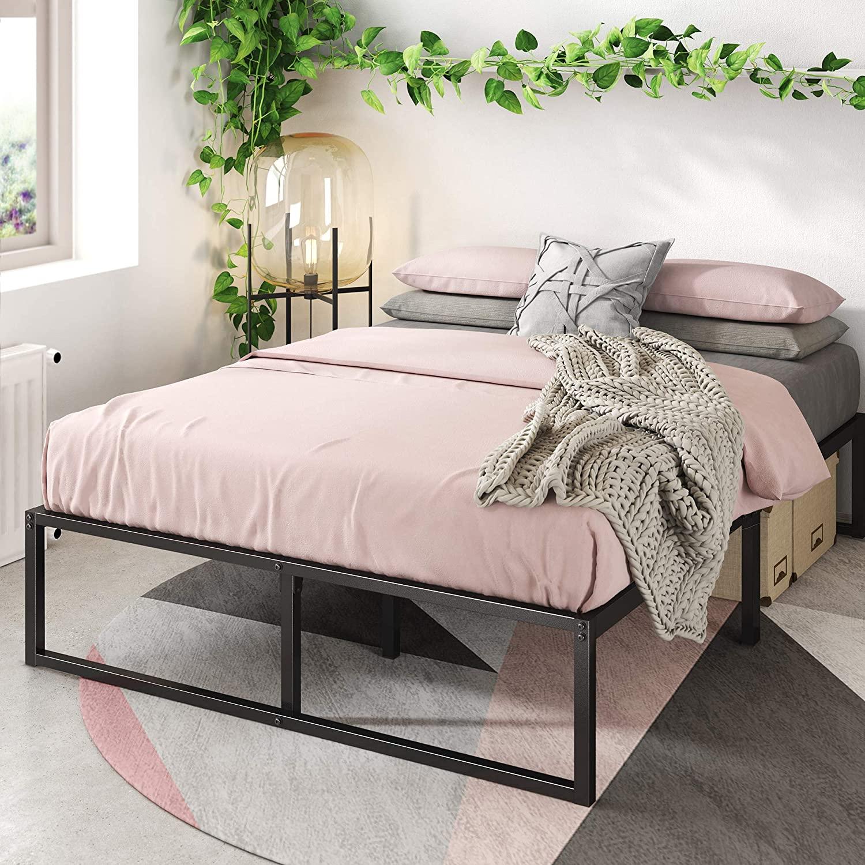 Zinus Lorelai Metal Platform Full Size Bed Frame