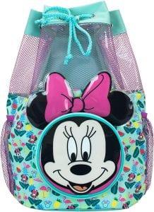 Disney Kids' Minnie Mouse Swim & Beach Bag